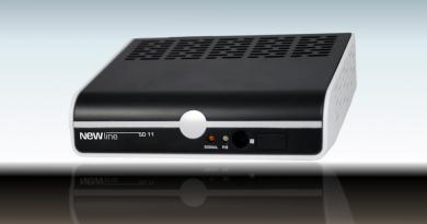 New-Line SD-11 SAT-Receiver