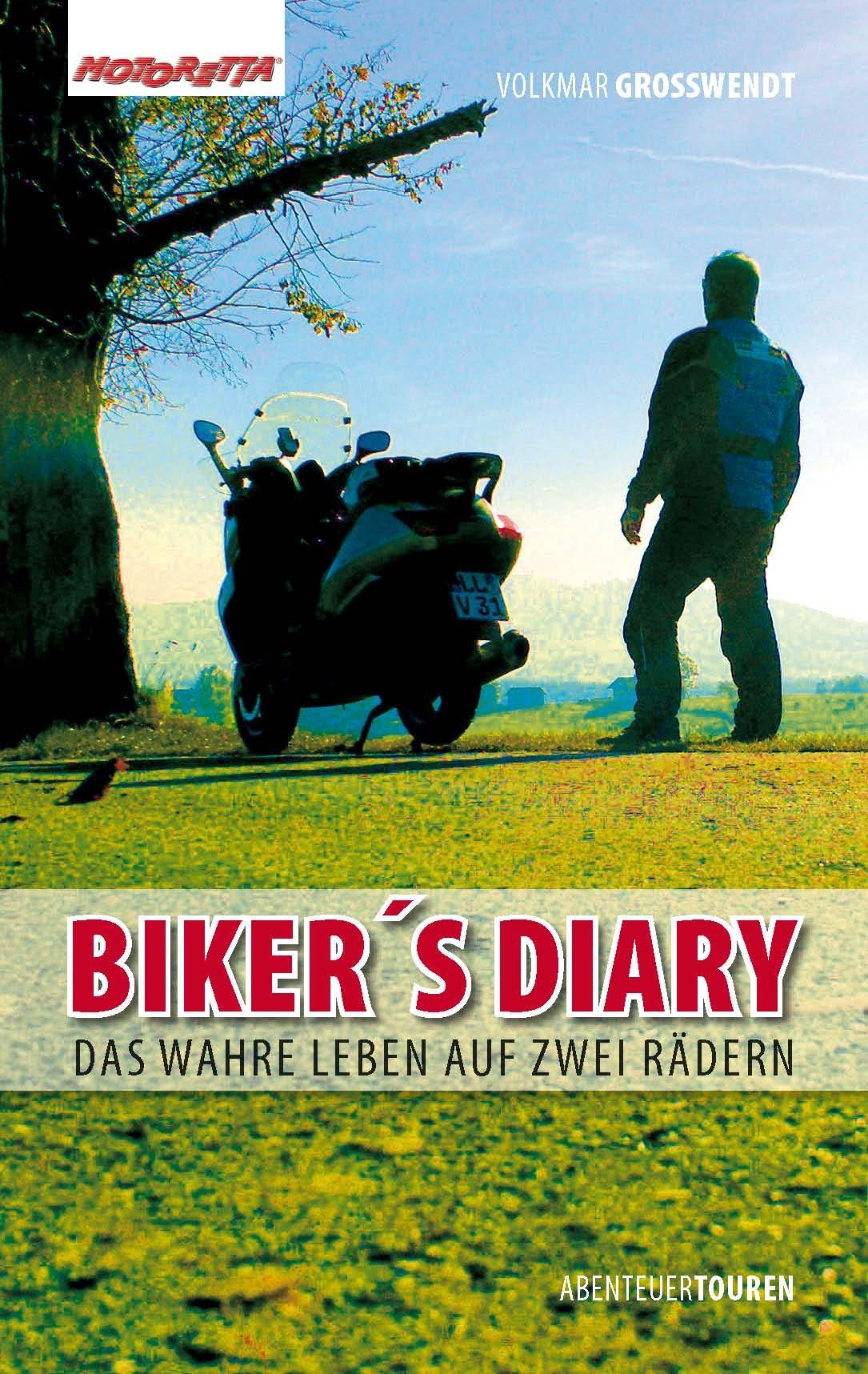 Biker´s Diary Cover