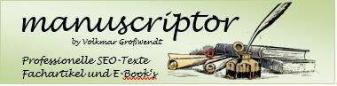 manuscriptor Logo Webseite