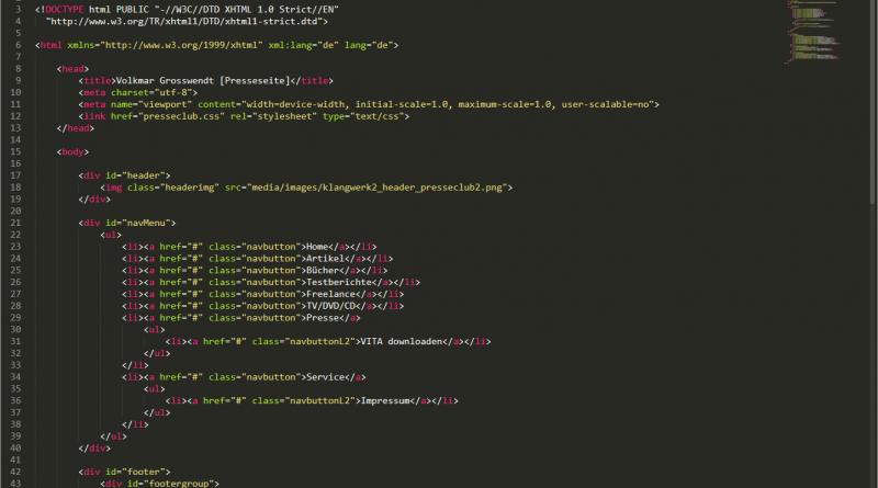 XML Strukturierte Daten