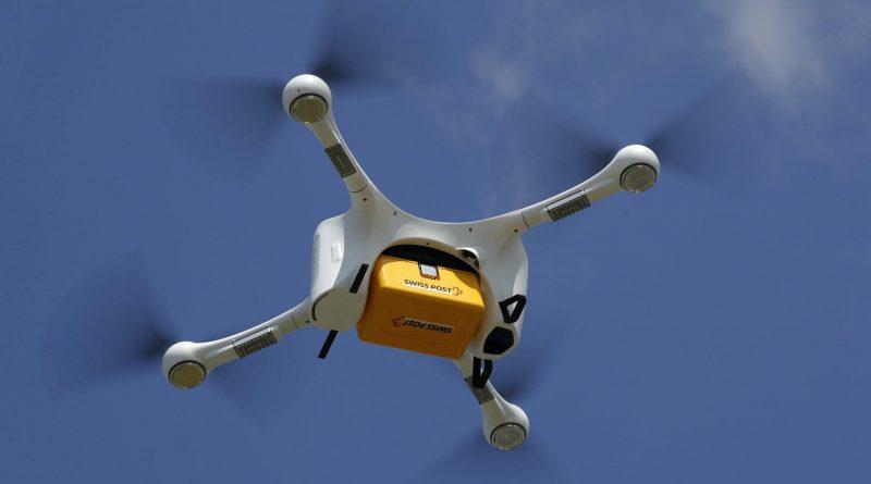 Drohnenkurierdienst zum ZLZ